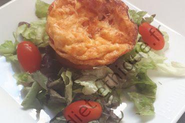 Tarte à la courgette, feta et tomates séchées